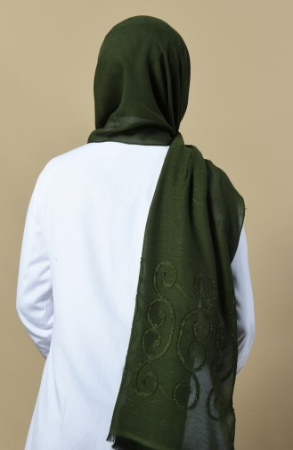 Khaki Schal 13091-05