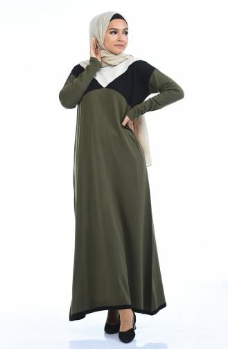 Khaki Dress 4139-03