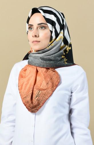 Orange Scarf 2346-12