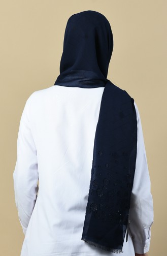 Navy Blue Shawl 13089-02