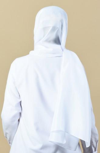 Châle Coton 13092-06 Blanc 13092-06