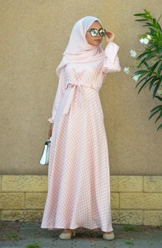 فستان باودر 8004-05
