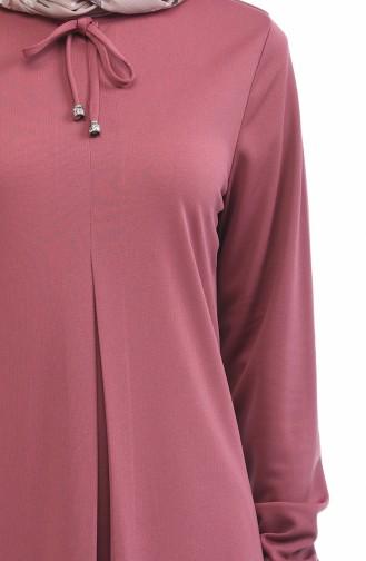 A Plissee Kleid 8380-10 Puder Rosa 8380-10