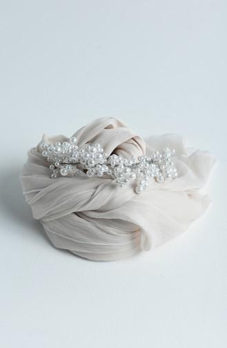 اكسسوارات شعر العروس أبيض 17