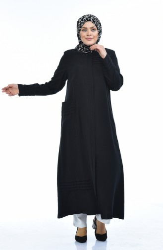 عباءه أسود 0375-04