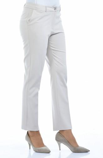 Pantalon avec Poches 20005-09 Beige 20005-09