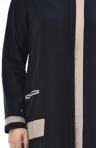 Black Abaya 0377-02