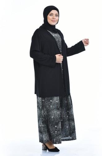 طقم أسود 8372H-01