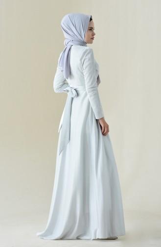 Robe de Soirée 7050-01 Gris 7050-01