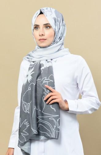 Silver Mink Shawl 13070-11