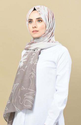 شال رمادي 13070-13