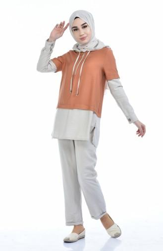 Beige Suit 5846-05