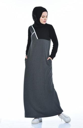 فستان فحم الإنتراسيت 9093-02