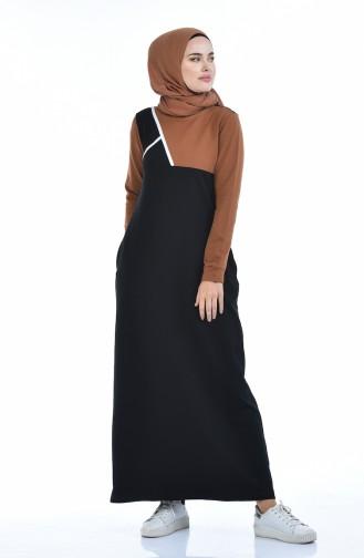 فستان أسود 9093-04