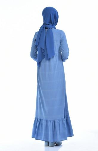 Blau Hijap Kleider 1275-01