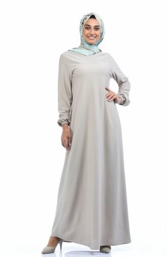 Beige Dress 4141-11