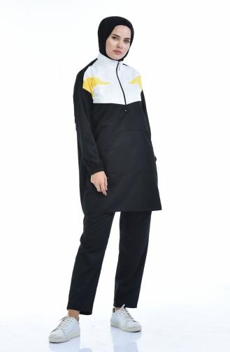 Black Sweatsuit 9080-03