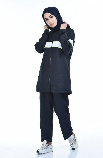 بيجامة الرياضة أزرق كحلي 9081-03