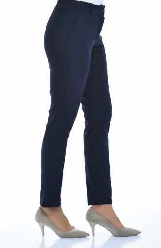 Klasik Havuç Pantolon 2113-01 Lacivert 2113-01