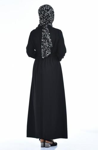 فستان أسود 2702-01