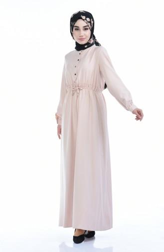 Gummi Kleid  2702-02 Puder 2702-02