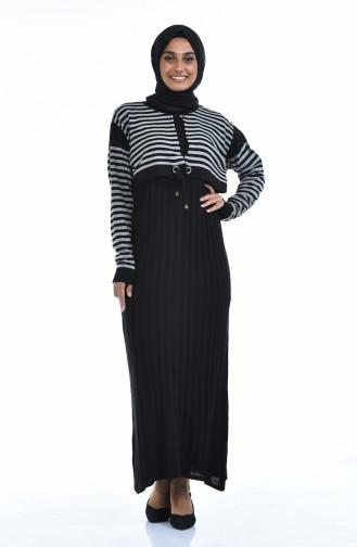 ملابس مُحاكة أسود 8028-01