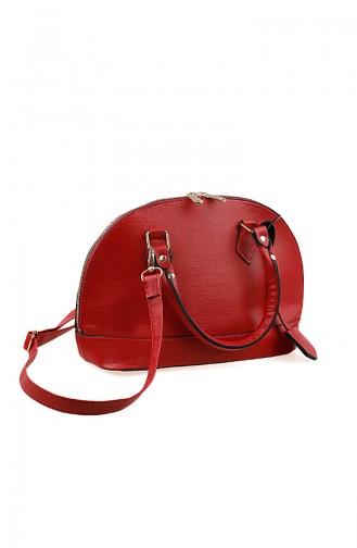 Dame Handtasche 1013-04 Rot 1013-04