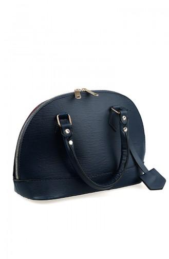 Navy Blue Shoulder Bag 1013-05