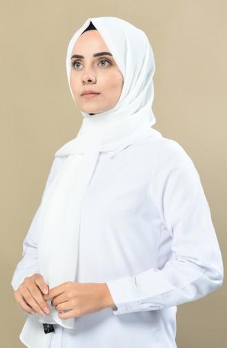 70138-02 شال سادة بيج فاتح 70138-02
