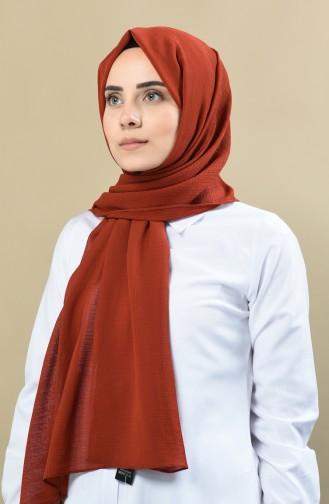 70138-10 شال سادة أخضر تبغ 70138-10