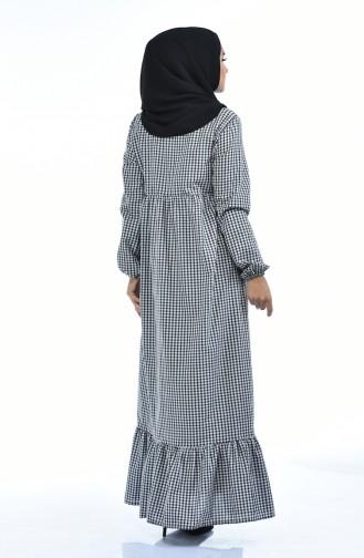 Schwarz Hijap Kleider 1276-03