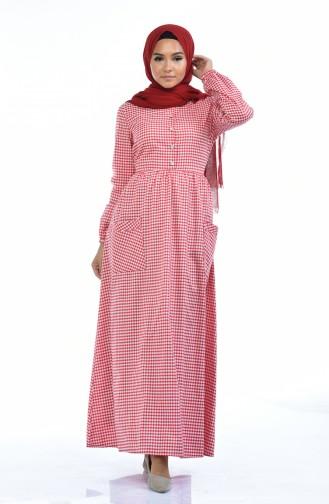 فستان أحمر 1284-02