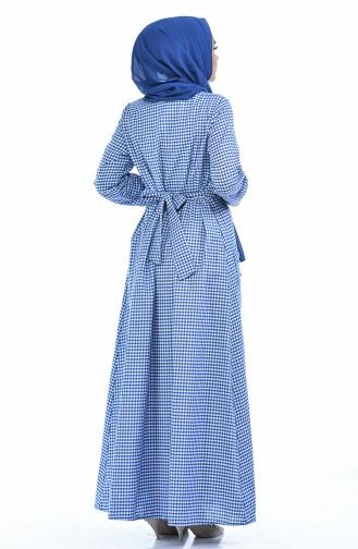 فستان أزرق 1284-03
