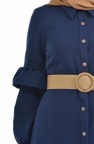 Navy Blue Dress 5035-03