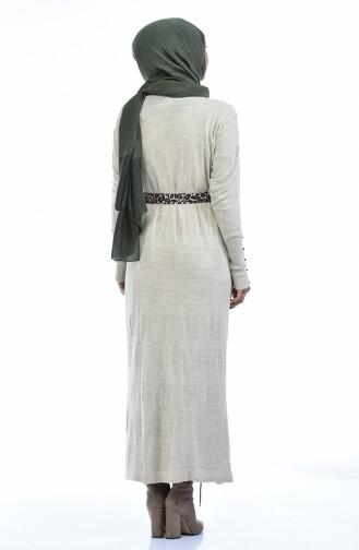 Beige Knitwear 8010-04