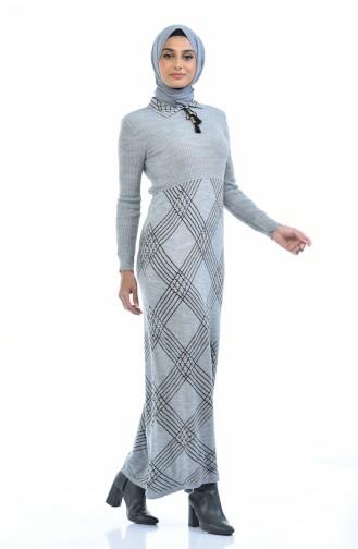 ملابس مُحاكة رمادي 8027-01
