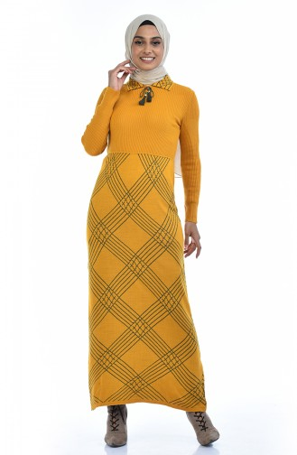 Mustard Tricot 8027-02