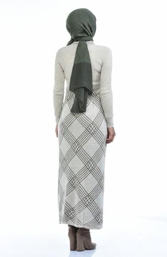 Robe Tricot 8027-09 Beige 8027-09