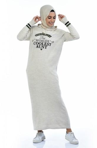 ملابس مُحاكة بيج 8030-03