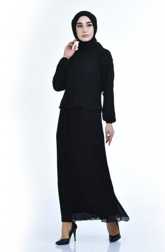 فستان أسود 16491-02