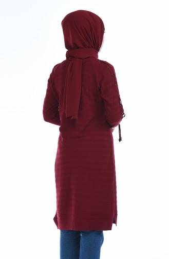 Claret red Tunic 8049-05