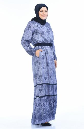 Lila Hijap Kleider 8Y3841701-04