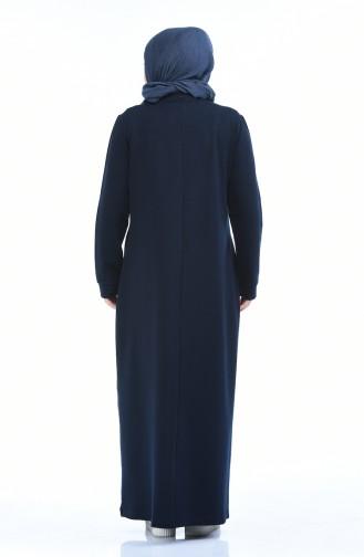 Robe Sport Grande Taille 10009-02 Bleu Marine 10009-02