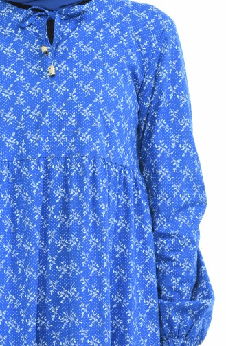1285-05 فستان أزرق 1285-05