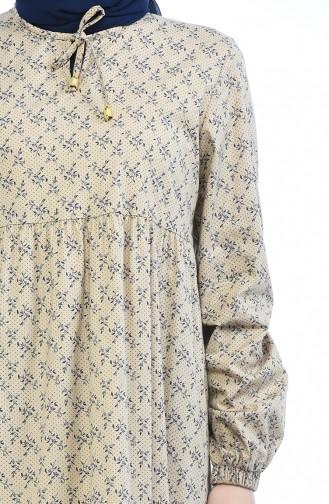 Robe Froncée 1285-07 Vison 1285-07
