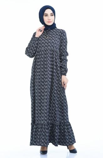 فستان أسود 1285-08