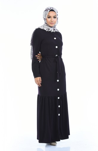 فستان أرجواني 1014-01