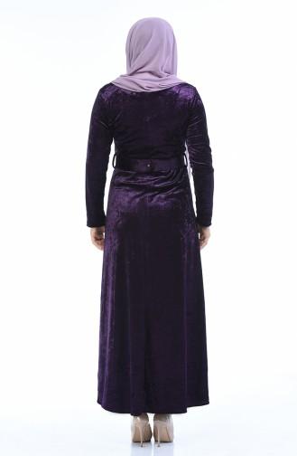 فستان أرجواني 4491-01