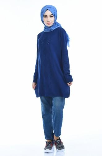 Tunique Tricot 2182-02 Bleu Roi 2182-02