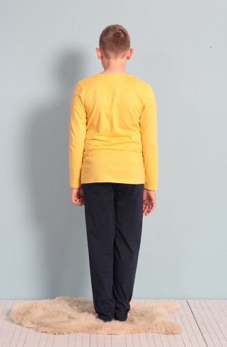 Yellow Kinderpyjama 703129